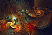Karin Kuhlmann Art Digital Art - Creation-Abstract Fractal Art by Carlita Cooly