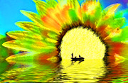 Angling Digital Art - Creative Boating by Glenn McGloughlin