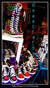 Converse Digital Art - Creativity at Work by Bobbee Rickard