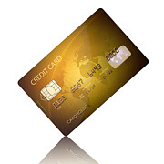 Credit Card Print by Johan Swanepoel