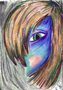 Image  Pastels - Creepily Colored Smooth by Marie De Garo