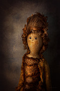 Naive Metal Prints - Creepy - Doll - Matilda Metal Print by Mike Savad