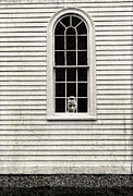 Creepy House Posters - Creepy victorian girl looking out window Poster by Edward Fielding