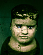Doll Photos - Creepy Zombie Child by Edward Fielding