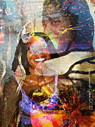 Creolization - Descendants Surviving Tribalism Print by Fania Simon