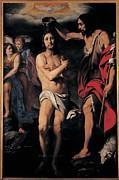 Crespi Daniele, The Baptism Of Christ Print by Everett