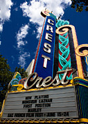 Family Crest Art - Crest Theater by John Daly