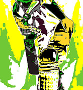 Cricket Prints - Cricketer Print by Chris Butler