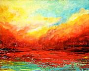 Crimson No.2 Print by Teresa Wegrzyn