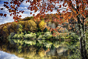 The Beauty Of Nature Art - Crisp Autumn Day in New Jersey by George Oze