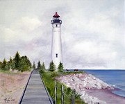 RB McGrath - Crisp Point Lighthouse