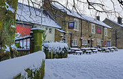 Crispin Inn At Ashover Print by David Birchall