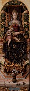 Madonna Posters - Crivelli Carlo, Madonna Of The Taper Poster by Everett