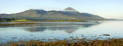 Jane Mcilroy Metal Prints - Croagh Patrick Irelands Holy Mountain Metal Print by Jane McIlroy