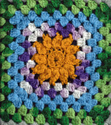 Vit Posters - Crochet # 1 Poster by J M L Patty