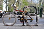 Bill Cannon - Crocheted Bicycle
