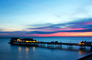 Amusements Framed Prints - Cromer Pier At Sunrise On English Coast Framed Print by Fizzy Image