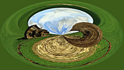 Horse And Buggy Posters - Crop Circles Poster by Steve McKinzie
