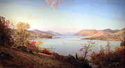Cropsey Prints - Cropseys Greenwood Lake Print by Cora Wandel