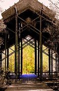Picayune Framed Prints - Crosby Arboretum Open Air Outdoor Pavillion Framed Print by Michael Hoard