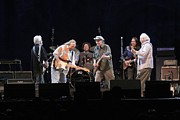 Neil Young Photo Prints - Crosby Stills Nash and Young Print by Front Row  Photographs