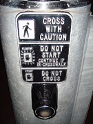 Crosswalk Photos - Cross With Caution 2 by Kathlene Pizzoferrato