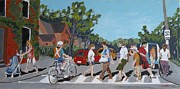 Charlton Paintings - Crossing Charlton by Fred Urron