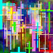 Crosses Digital Art - Crossing Over by Glenn McCarthy Art and Photography