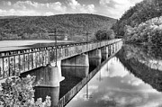 Csx Framed Prints - Crossing the James Framed Print by JC Findley