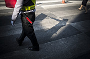 Light And Shadow Photos - Crosswalk by Setsiri Silapasuwanchai