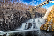 Emmanouil Framed Prints - Croton Falls Bridge Framed Print by Emmanouil Klimis
