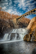 Emmanouil Framed Prints - Croton Falls Bridge View Framed Print by Emmanouil Klimis