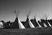Big Horn  Photography - Crow Teepee