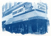 St Louis Missouri Posters - Crown Candy Poster by Jane Linders