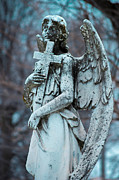 Indianapolis Art - Crown Hill Cemetery Angel by Melissa Wyatt