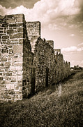 Barracks Prints - Crown Point New York Old British Fort Ruin Print by Edward Fielding
