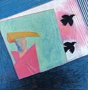 Genevieve Esson - Crows And Geometric Figure
