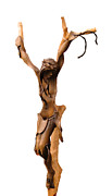 Crucifix Art Photo Posters - Crucifixion Art Poster by Al Bourassa