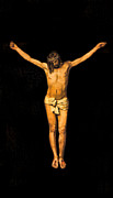 Jesus Crucifixion Photos - Crucifixion of Jesus Christ by Lee Dos Santos