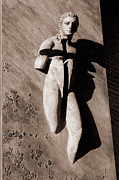 Sculpture Pyrography - Crucifixion by Tatiana Ivchenkova