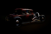 Model A Sedan Prints - Cruisin Print by Steve McKinzie