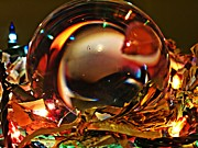 Crystal Ball Framed Prints - Crystal Ball Project 16 Framed Print by Sarah Loft