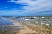 Hallmark Metal Prints - Crystal Beach Metal Print by Kristina Deane