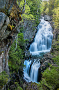 Ethereal Water Prints - Crystal Cascade - Pinkham Notch  Print by Thomas Schoeller