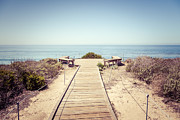 Crystal Cove Overlook Retro Picture Print by Paul Velgos
