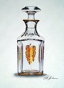 Cathy Jourdan - Crystal Decanter