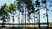 Northwoods Prints - Crystal Lake 3 Print by Geoff Strehlow