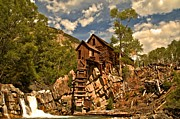 Old Mills Prints - Crystal River And Crystal Mill Print by Adam Jewell