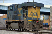Kreuz Prints - CSX 5402 Engine 01 Print by J M L Patty