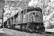 Mary Almond - CSX Train in Infrared